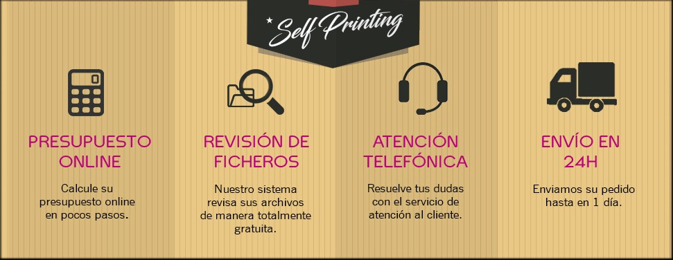 Servicios para impresión